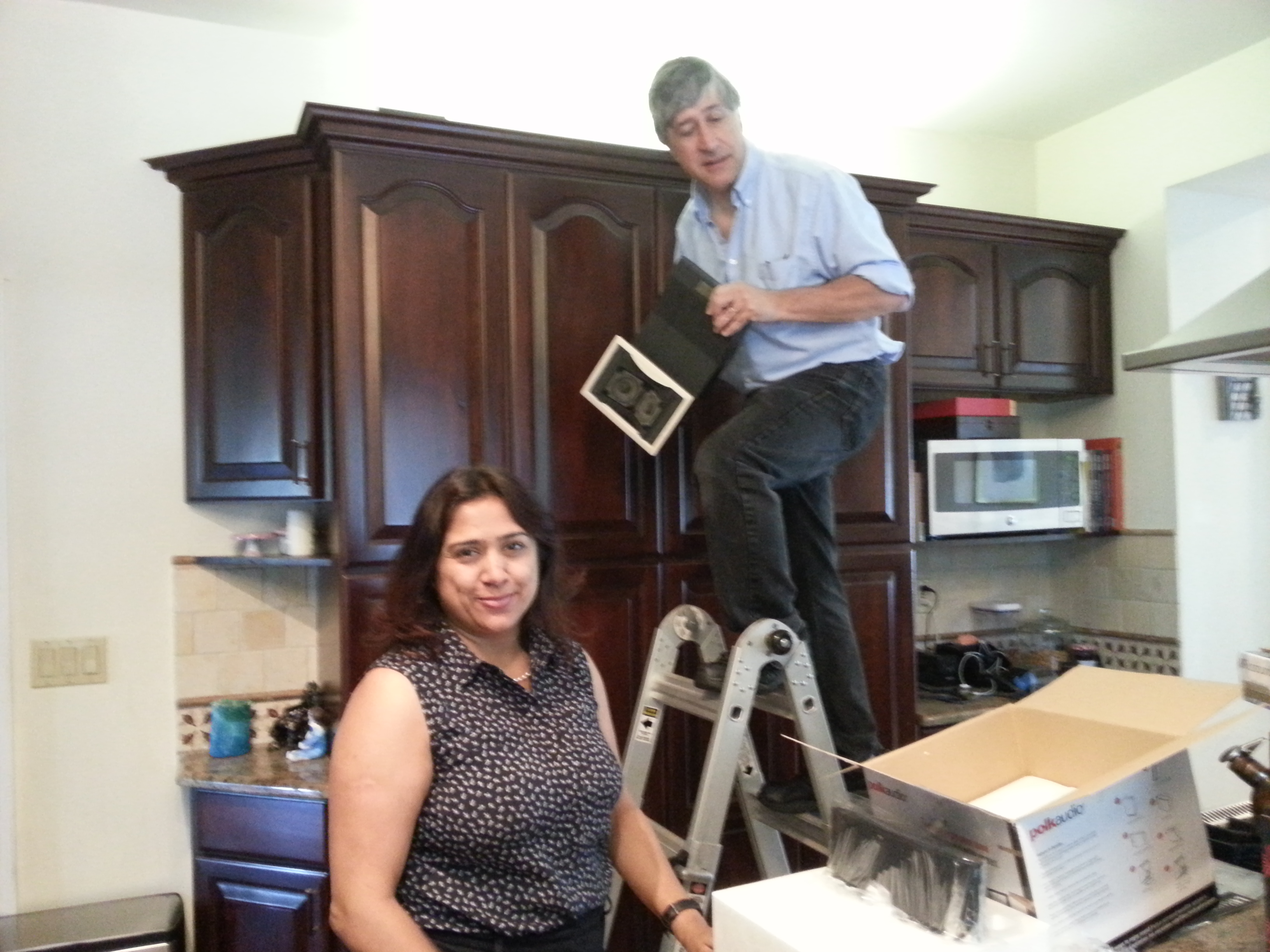 Home Audio Systems: Installing New Speakers In The Kitchen.